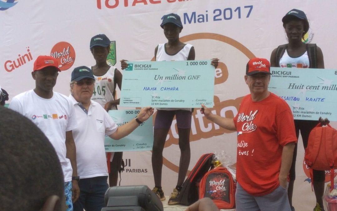 Le Semi-marathon de Conakry